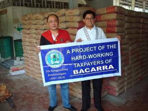 Cement for Bacarra Public Market