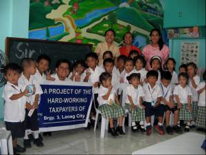 Electric Fans and Blackboard for Laoag City