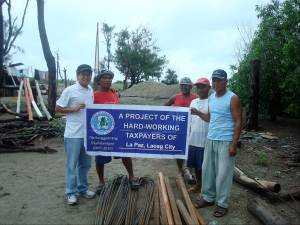 Steel Bars and Cement for Laoag City