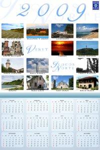 Ilocos Norte Calendar 2009