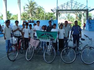 Bike Recipients in Dumalneg