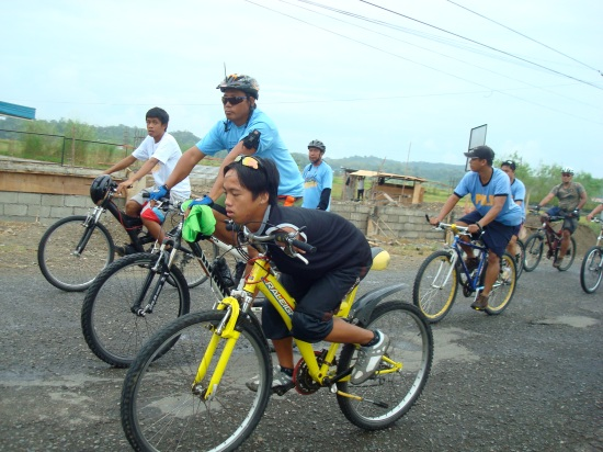 PWD Norman Santos biking